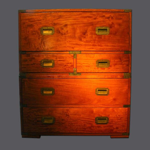 14. Campaign Chest in Solid Padauk
