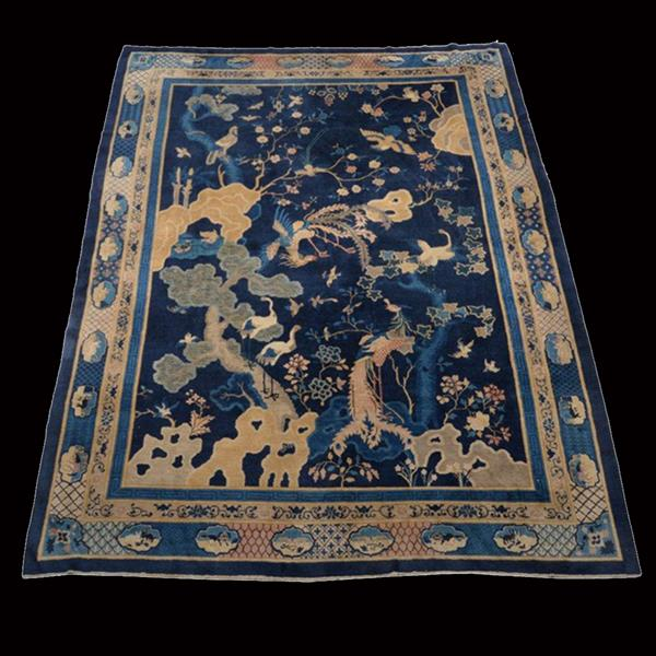 33. Decorated Chinese Carpet