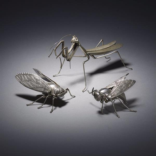 39. Three Articulated Insects