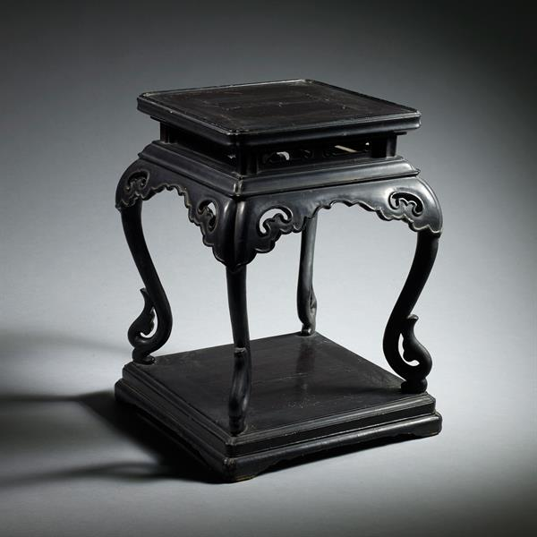 4. Lacquer Incense Stand
