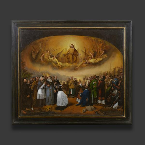 1. Ecclesiastical oil painting