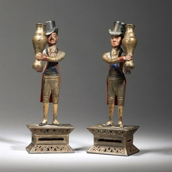 7. Pewter figures